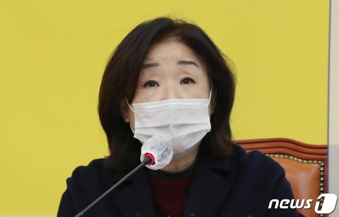 심상정 정의당 의원. 2021.1.19/뉴스1 © News1 박세연 기자