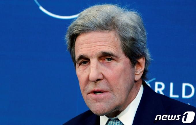 존 케리 미국 기후변화 특사. © 로이터=뉴스1
