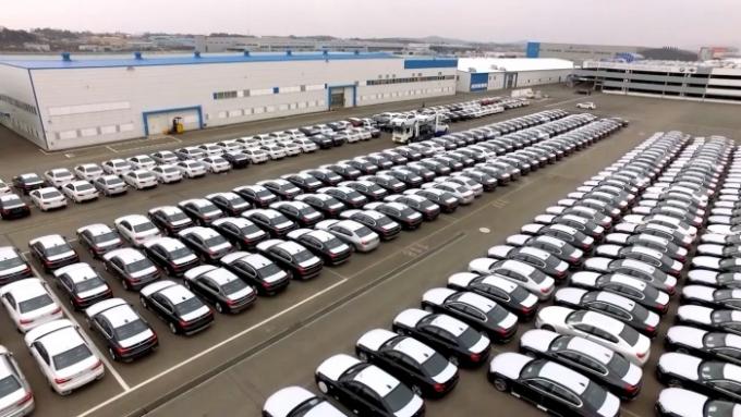 BMW 그룹 코리아가 올해부터 오는 2023년까지 총 600억원을 투자해 평택 'BMW자동차물류센터'(Vehicle Distribution Center)'를 확장한다. /사진제공=BMW그룹코리아