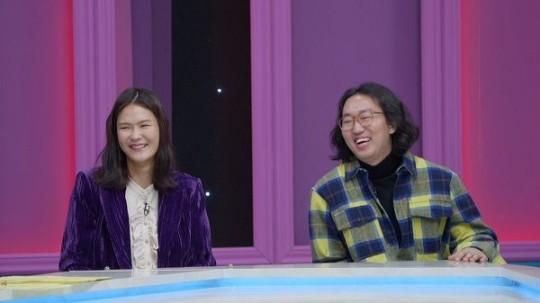 모델 전수민이 남편 김경진과의 연애스토리를 공개했다. /사진=언니한테 말해도 돼 제공