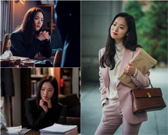 배우 전여빈이 tvN '빈센조'에서 독종 변호사 홍차영 역을 연기한다. /사진=tvN 제공
