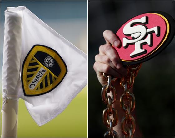 NFL의 샌프란시스코 포리나이너스 구단(오른쪽)이 잉글랜드 프로축구 리즈 유나이티드 구단 지분을 추가매입해 2대주주로 올라섰다. /사진=로이터