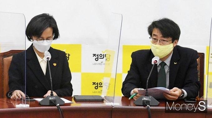 [머니S포토] 성추행 위기속 소집된 정의당 비상대책회의