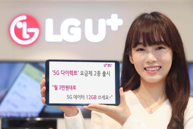 LG유플러스, '5G 최저가' 온라인 요금제 선봬… 월 3만7500원에 12GB