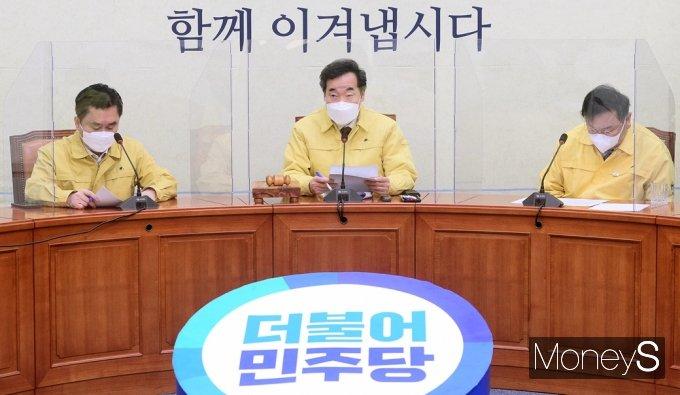 """[머니S포토] 이낙연 """"故 박원순 사건 인권위 조사 결과 무겁게 받아들여"""""""