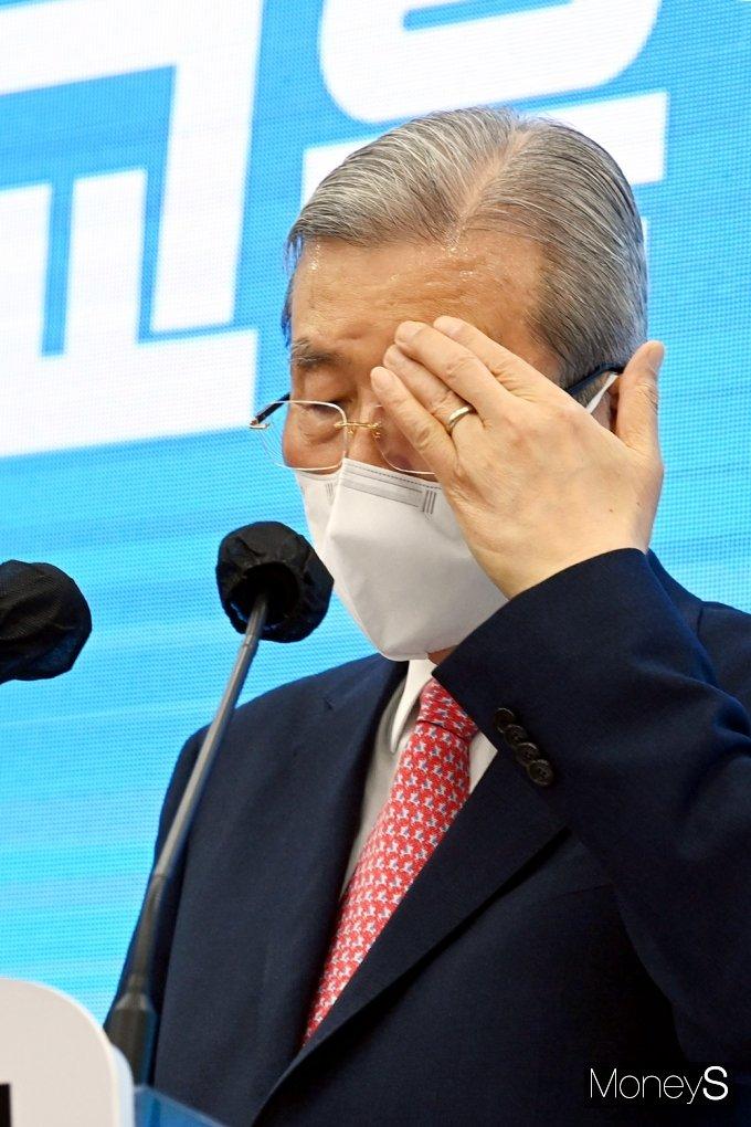 """[머니S포토] 김종인 """"아이 키우기 좋은 환경을 만드는데 정책 초점 맞출 것"""""""