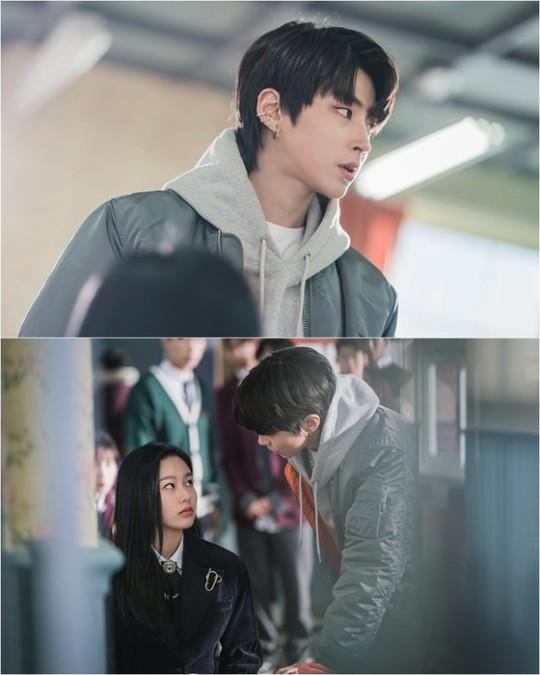 '여신강림' 황인엽의 스틸컷이 공개됐다. /사진=tvN 제공