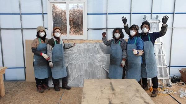 의왕시(시장 김상돈)는 공공미술프로젝트인 우리동네미술 사업 '월암별곡'을 진행하고 있다고 27일 밝혔다. / 사진제공=의왕시