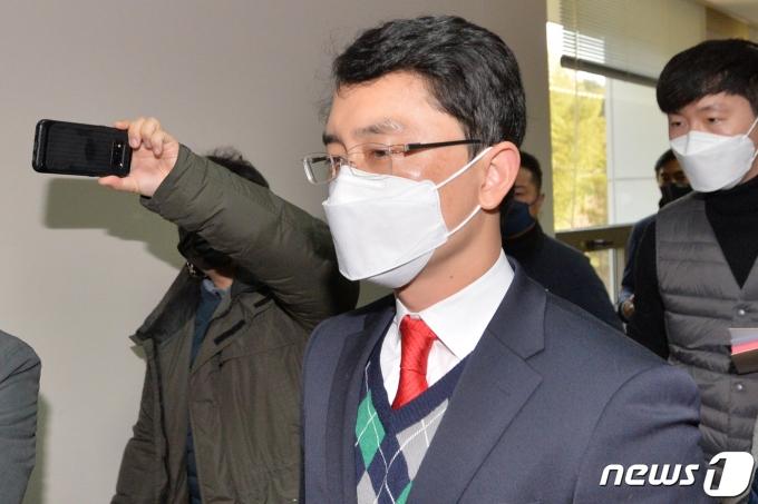 공직선거법위반혐으로 재판에 넘겨진 무소속 김병욱(포항남·울릉) 의원이 당선 무효형인 150만원을 선고받았다. /사진=뉴스1
