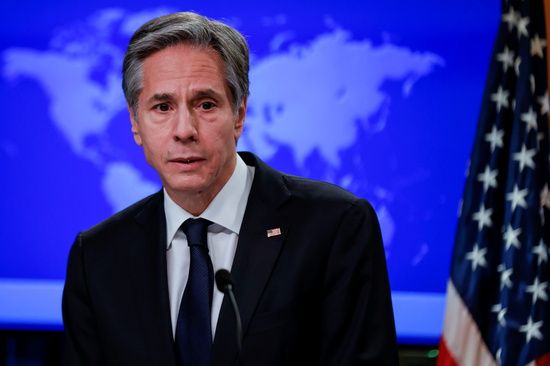토니 블링컨 미국 국무장관이 중국의 남중국해 영유권 주장을 비난하며 동남아시아 국가와 연대하겠다는 의지를 드러냈다. /사진=로이터