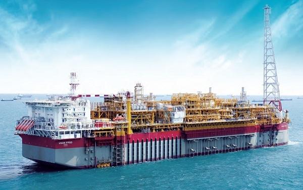 현대중공업의 부유식 원유생산 저장 및 하역설비(FPSO). /사진=현대중공업
