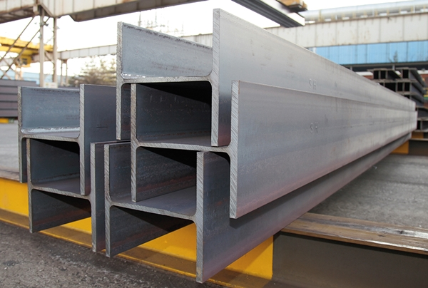 현대제철이 제작한 H형강. /사진=현대제철