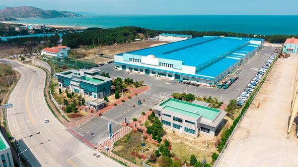 포스코SPS 공장 전경. /사진=포스코인터