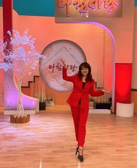 홍지민이 KBS1 '아침마당'에 출연해 다이어트와 관련해 다양한 이야기를 나눴다. /사진=홍지민 인스타그램 캡처