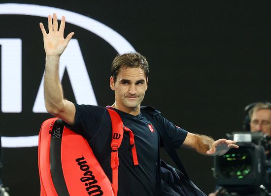 '테니스 황제' 로저 페더러가 다음달 카타르 도하 오픈을 통해 복귀한다. /사진=로이터