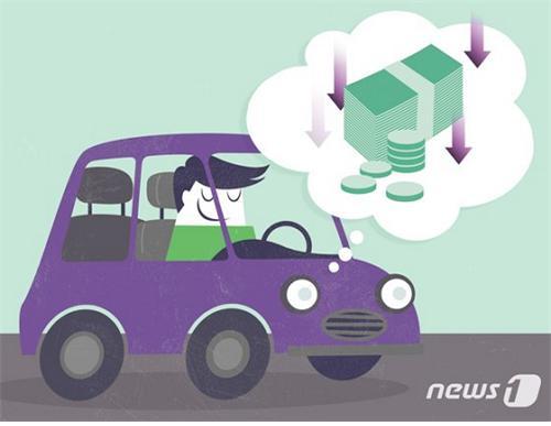 지난 1월 폭설 등에도 자동차보험 손해율은 전년동월대비 6%포인트 가까이 하락했다. /그래픽=뉴스1