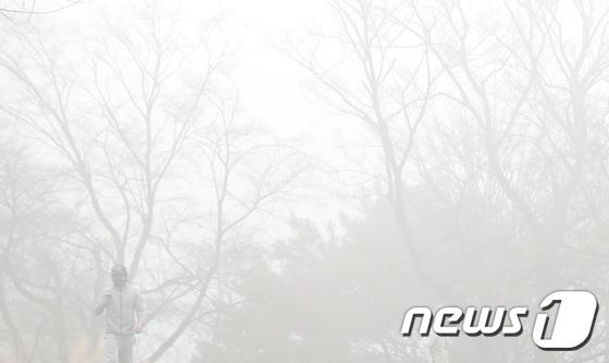 수도권을 비롯한 전국 곳곳에서 고농도 미세먼지가 한때 '매우 나쁨' 수준까지 올랐던 지난 7일 남산서울타워 인근의 모습이다. /사진=뉴스1