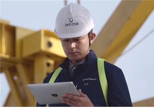 대우건설은 건설현장의 효율적인 협업 환경을 조성하기 위해 사진 기반의 솔루션인 COCO(Co-work of Construction)를 개발했다. /사진제공=대우건설