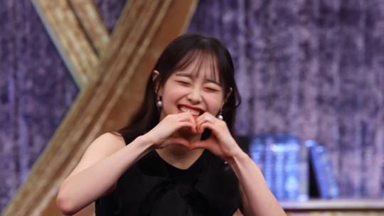 배우 조병규가 이달의 소녀 츄 양면 하트를 보다 편집을 요구했다. /사진=MBC 제공