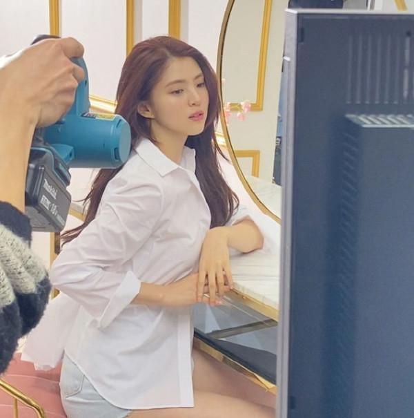 배우 한소희의 무보정 영상이 눈길을 끈다./사진=한소희 인스타그램