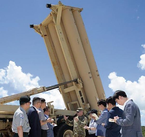 한국 언론에 공개된 사드 포대./사진=미군