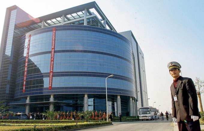 중국 상하이에 위치한 SMIC 사옥 /사진=로이터