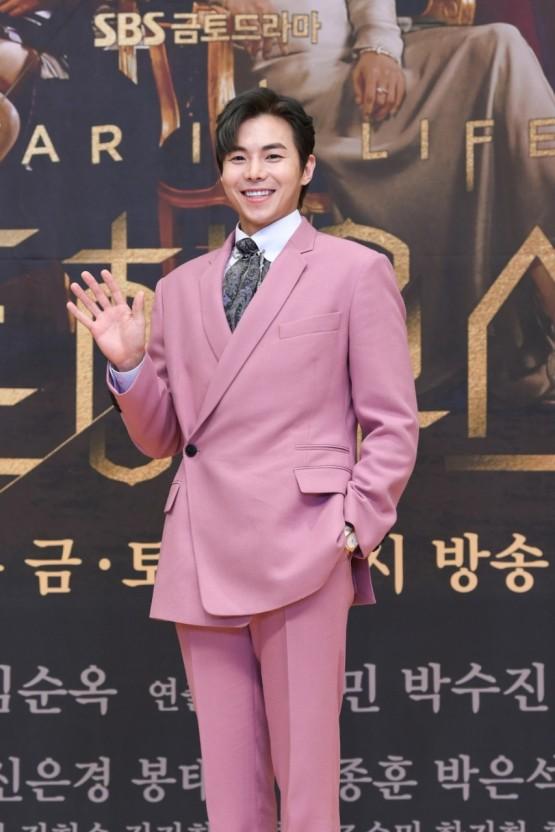 배우 박은석이 '펜트하우스' 속 이상형을 꼽았다. /사진=SBS 제공