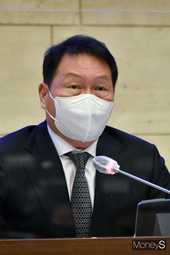 [머니S포토] 최태원 회장, 서울상의 회장 공식 선출