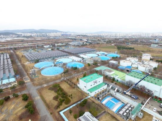 광주 제1하수처리장 전경/사진=광주광역시