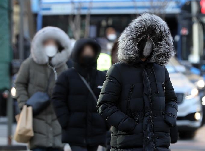 수요일인 24일은 전국 대부분 지역의 아침 기온이 영하권이다. /사진=뉴스1