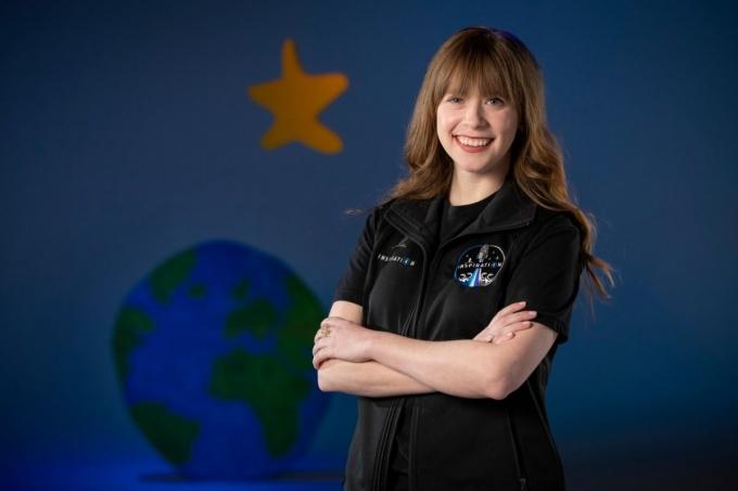 어릴 때 골수암을 앓았던 여성 의료인이 최초의 민간 우주 비행로 선발됐다. /사진=주드 아동 병원 제공