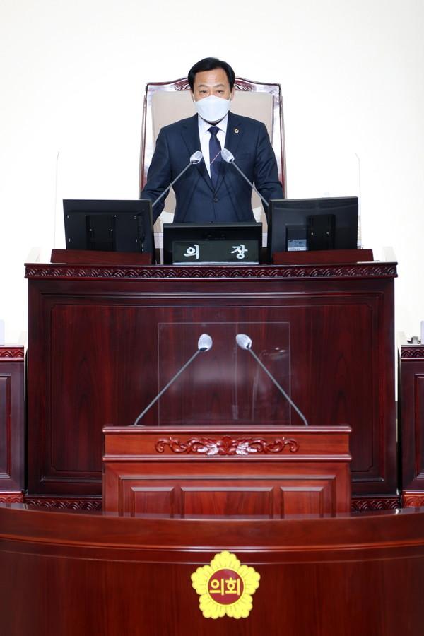 장현국 경기도의회 의장. / 사진제공=경기도의회
