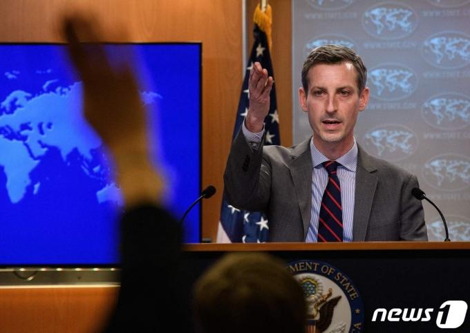 네드 프라이스 미국 국무부 대변인 <자료사진> © AFP=뉴스1
