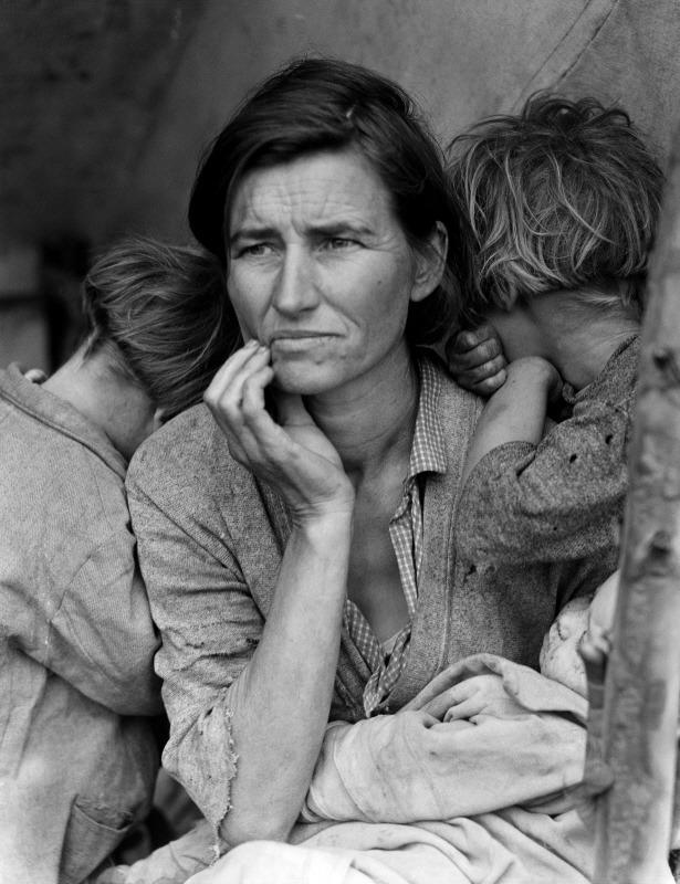 도로시아 랭 작' 이주 노동자 어머니'© 뉴스1