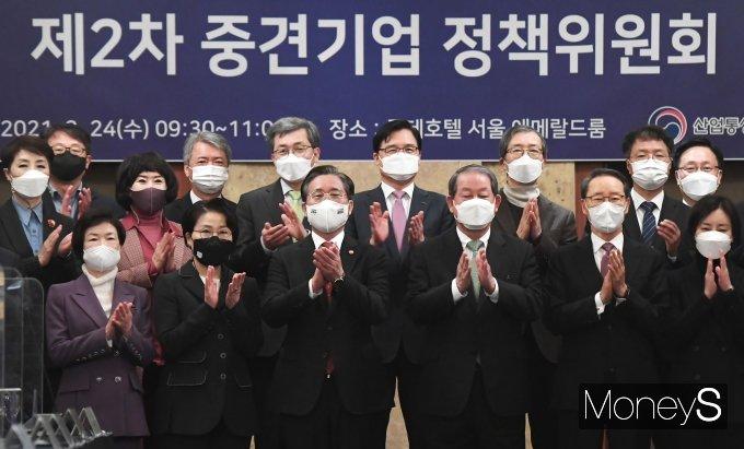[머니S포토] 한국중견기업연합회-한국산업기술평가관리원, 소부장 중견기업 MOU