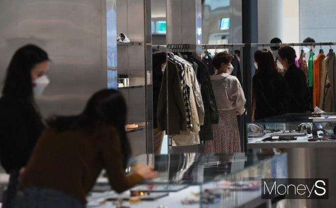 [머니S포토] '더현대 서울' 여의도 사전 개점