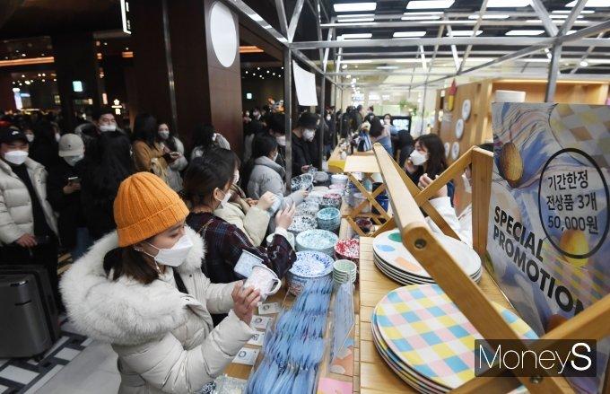 [머니S포토] 현대백화점, 26일 더현대 서울 정식 개점