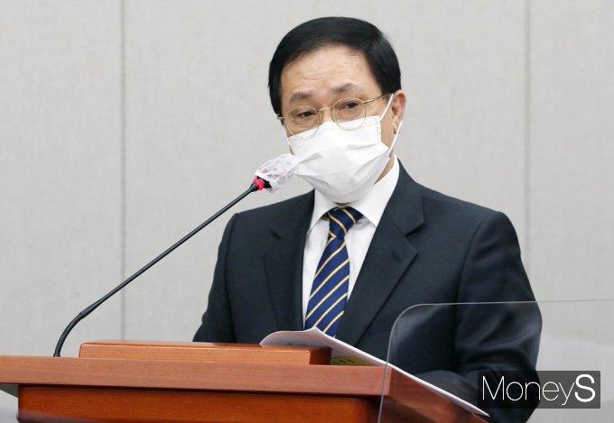 """[머니S포토] 운영위 유영민 """"신현수 파동 국민앞 송구스러..."""""""