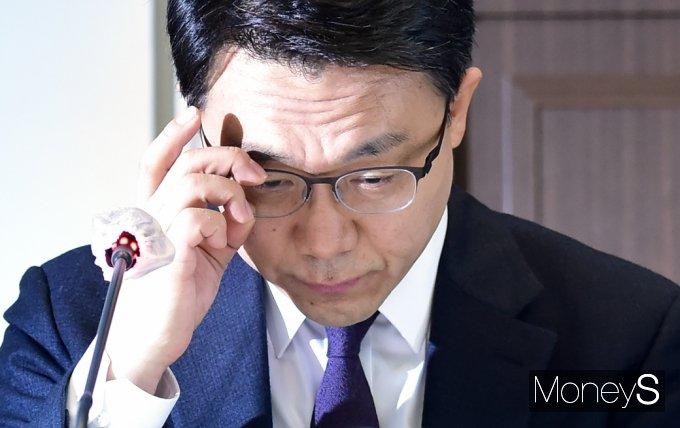 """[머니S포토] 김진욱 """"공수처, 헌법과 법률에 의해 그 양심에 따라 독립적 직무 수행해야"""""""