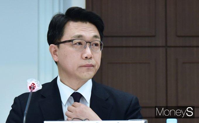 """[머니S포토] 공수처 김진욱 """"검·경 등 수사기관들의 협력 우선되야..."""""""