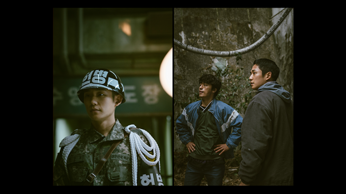 넷플릭스가 25일 열린 'See What's Next Korea 2021'을 통해 출시를 앞둔 한국 오리지널 작품 라인업을 공개했다. 사진은 'D.P.' 스틸컷. /사진제공=넷플릭스