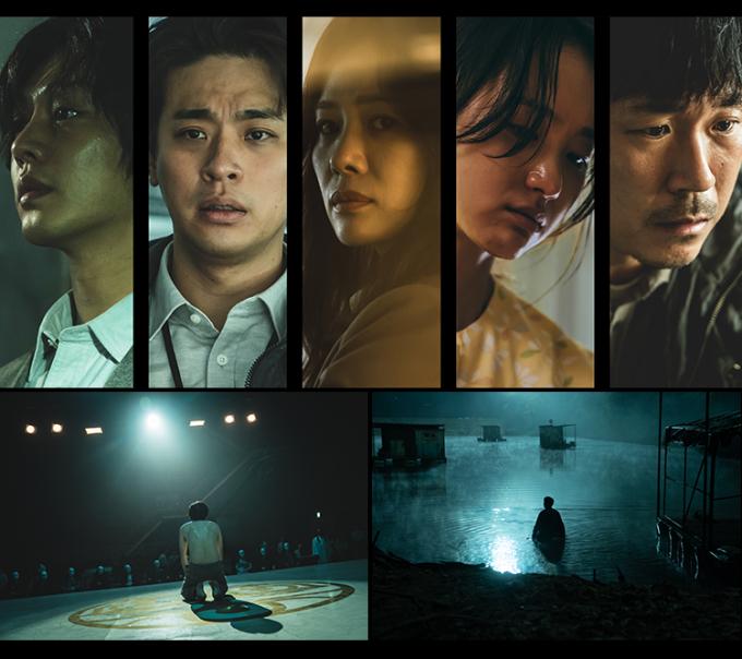 넷플릭스가 25일 열린 'See What's Next Korea 2021'을 통해 출시를 앞둔 한국 오리지널 작품 라인업을 공개했다. 사진은 '지옥' 스틸컷. /사진제공=넷플릭스