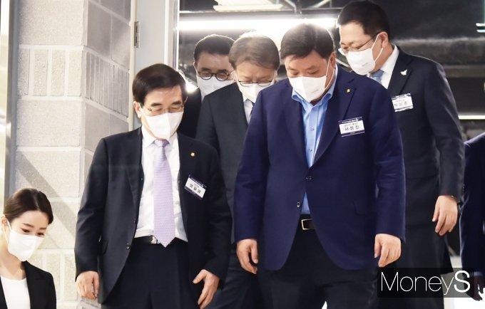 [머니S포토] '인천 스타트업 파크' 개소식 참석한 내외빈