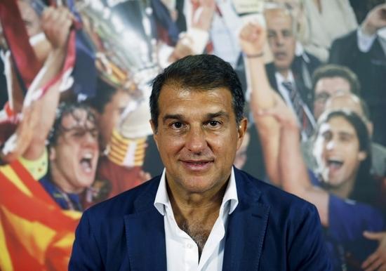 후안 라포르타 FC바르셀로나 회장 후보. /사진=로이터