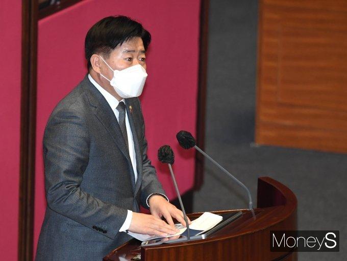 [머니S포토] 오영훈 의원, 제주 4.3 사건 관련 발언