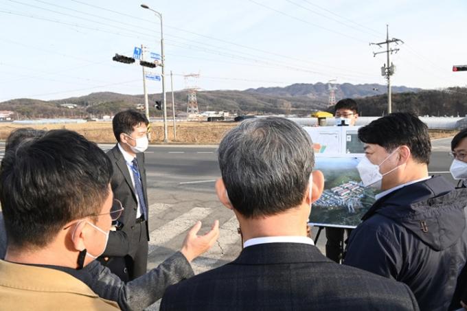 용인 반도체클러스터 3월 승인 앞두고 주요 현안 점검. / 사진제공=경기도북부청