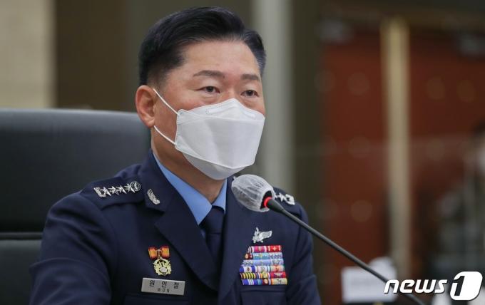 원인철 합동참모본부 의장. 2020.10.8/뉴스1 © News1 신웅수 기자