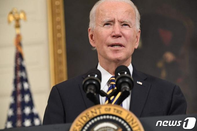 조 바이든 미국 대통령. <자료 사진> © AFP=뉴스1 © News1 우동명 기자