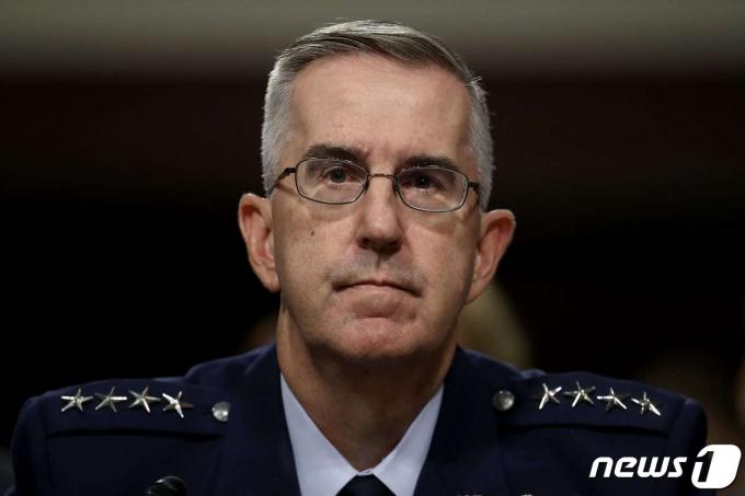 존 하이튼 미군 합동참모본부 차장 <자료사진> © AFP=뉴스1