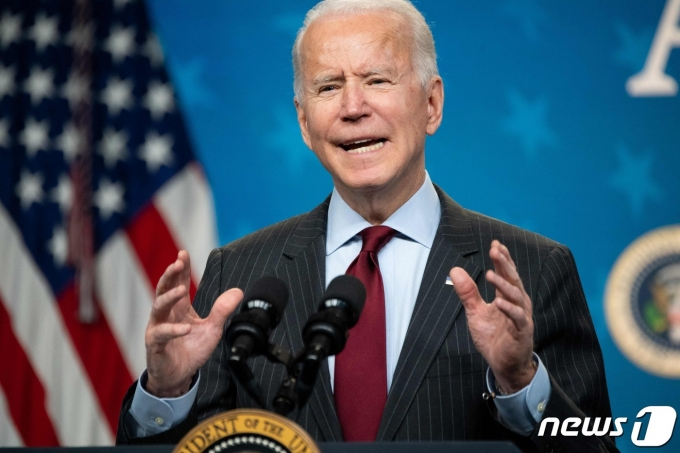 조 바이든 미국 대통령. © AFP=뉴스1